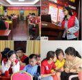 社会实践部(爱心社)于刘家社区开展安全教育主题活动